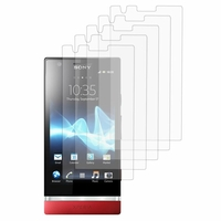 Sony Xperia P/ LT22i Nypon: Lot / Pack de 5x Films de protection d'écran clear transparent