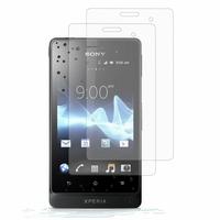Sony Xperia go/ Xperia advance/ Sony ST27i/ Sony ST27a: Lot / Pack de 2x Films de protection d'écran clear transparent