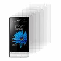 Sony Xperia U St25i Kumquat: Lot / Pack de 6x Films de protection d'écran clear transparent