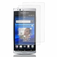 Sony Xperia Arc X12 Lt15i LT15a/ Arc S LT18i LT18a: Lot / Pack de 2x Films de protection d'écran clear transparent