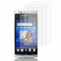 Sony Xperia Arc X12 Lt15i LT15a/ Arc S LT18i LT18a: Lot / Pack de 3x Films de protection d'écran clear transparent