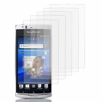 Sony Xperia Arc X12 Lt15i LT15a/ Arc S LT18i LT18a: Lot / Pack de 5x Films de protection d'écran clear transparent