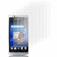 Sony Xperia Arc X12 Lt15i LT15a/ Arc S LT18i LT18a: Lot / Pack de 6x Films de protection d'écran clear transparent