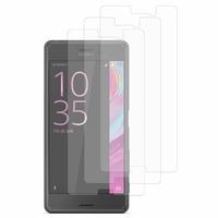 Sony Xperia X Performance/ Dual F8131 F8132 (non compatible Xperia X): Lot / Pack de 3x Films de protection d'écran clear transparent