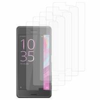 Sony Xperia X Performance/ Dual F8131 F8132 (non compatible Xperia X): Lot / Pack de 5x Films de protection d'écran clear transparent