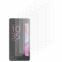 Sony Xperia X Performance/ Dual F8131 F8132 (non compatible Xperia X): Lot / Pack de 6x Films de protection d'écran clear transparent