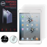 Apple iPad 2/ 3 (nouvel iPad) /4 Retina: Lot / Pack de 3 Films de protection d'écran Verre Trempé