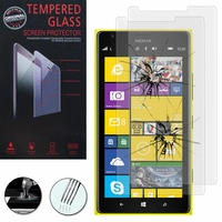 Nokia Lumia 1520/ RM-937/ RM-938/ RM-939/ RM-940: Lot / Pack de 2 Films de protection d'écran Verre Trempé