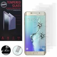 Samsung Galaxy S6 edge+ SM-G928F/ S6 edge PLUS/ edge+ Duos G928G G928T G928A G928I G928V G928P G928R (non compatible Galaxy S6/ S6 edge): Lot / Pack de 3 Films de protection d'écran Verre Trempé