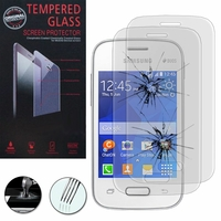 Samsung Galaxy Pocket 2/ Pocket 2 Duos SM-G110B SM-G110B/DS SM-G110H SM-G110M: Lot / Pack de 2 Films de protection d'écran Verre Trempé