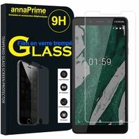 """Nokia 1 Plus (2019) 5.45"""" (non compatible Nokia 1 4.5"""") [Les Dimensions EXACTES du telephone: 145 x 70.4 x 8.6 mm]: 1 Film de protection d'écran Verre Trempé"""