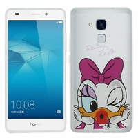 Huawei Honor 5c/ Honor 7 Lite/ Huawei GT3: Coque silicone Ultra-Fine Dessin animé jolie - Daisy Duck