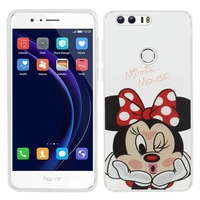 "Huawei Honor 8 5.2"" (non compatible Honor V8): Coque silicone Ultra-Fine Dessin animé jolie - Minnie Mouse"