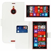 Nokia Lumia 1520/ RM-937/ RM-938/ RM-939/ RM-940: Etui portefeuille Livre Housse Coque Pochette cuir PU - BLANC