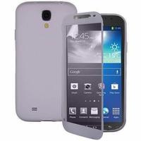 Samsung Galaxy S4 Active I9295/ I537 LTE: Coque Silicone gel Livre rabat - TRANSPARENT