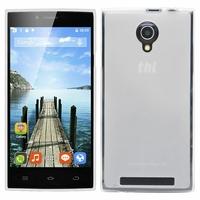 THL T6C 3G SmartPhone 5.0'': Coque silicone Gel - TRANSPARENT