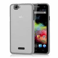 Wiko Rainbow 4G: Coque silicone Gel - TRANSPARENT