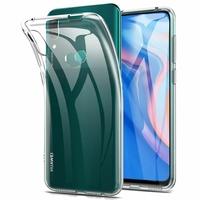 """Huawei P Smart Z (2019) 6.59"""" (non compatible Huawei P smart 2017 5.65""""/ P Smart Plus 2019 6.21""""/ P Smart (2019) 6.21""""): Coque Silicone gel UltraSlim et Ajustement parfait - TRANSPARENT"""