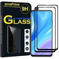 """Huawei Y9s (2019) 6.59"""" STK-L21 STK-L22 STK-LX3 (non compatible Huawei Y9 (2019) 6.5""""): Lot / Pack de 2 Films de protection d'écran Verre Trempé"""