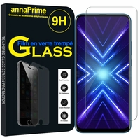 "Huawei Honor 9X/ 9X Pro/ 9X Premium 6.59"" (non compatible Honor 9/ 9 Premium 5.15""): 1 Film de protection d'écran Verre Trempé"