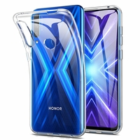 "Huawei Honor 9X/ 9X Pro/ 9X Premium 6.59"" (non compatible Honor 9/ 9 Premium 5.15""): Coque Silicone gel UltraSlim et Ajustement parfait - TRANSPARENT"