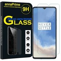 """OnePlus 7T 6.55"""" HD1901 HD1903 HD1900 HD1907 (non compatible OnePlus 7 6.41""""/ OnePlus 7T Pro 6.67""""): 1 Film de protection d'écran Verre Trempé"""