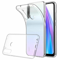 "Xiaomi Redmi Note 8T 6.3"" (non compatible Xiaomi Redmi Note 8 Pro 6.53""): Coque Silicone gel UltraSlim et Ajustement parfait - TRANSPARENT"