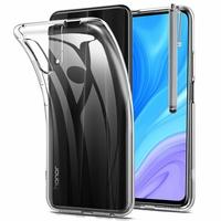 "Huawei Y9s (2019) 6.59"" STK-L21 STK-L22 STK-LX3 (non compatible Huawei Y9 (2019) 6.5""): Coque Silicone gel UltraSlim et Ajustement parfait + Stylet - TRANSPARENT"