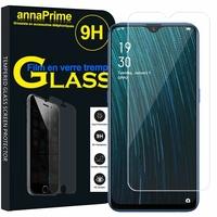 "Oppo A7/ AX7/ A7n 6.2"" CPH1901 CPH1903 CPH1905 [Les Dimensions EXACTES du telephone: 155.9 x 75.4 x 8.1 mm]: 1 Film de protection d'écran Verre Trempé"