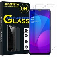 """Oppo F11 6.53"""" CPH1913 CPH1911 (non compatible Oppo F11 Pro) [Les Dimensions EXACTES du telephone: 162 x 76.1 x 8.3 mm]: Lot / Pack de 2 Films de protection d'écran Verre Trempé"""