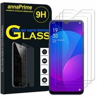 """Oppo F11 6.53"""" CPH1913 CPH1911 (non compatible Oppo F11 Pro) [Les Dimensions EXACTES du telephone: 162 x 76.1 x 8.3 mm]: Lot / Pack de 3 Films de protection d'écran Verre Trempé"""