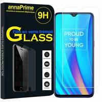 """Realme 3 Pro/ Realme X Lite 6.3"""" RMX1851 [Les Dimensions EXACTES du telephone: 156.8 x 74.2 x 8.3 mm]: 1 Film de protection d'écran Verre Trempé"""