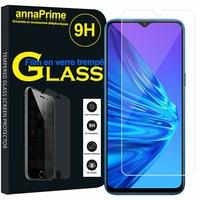 """Realme 5i 6.52"""" RMX2030 [Les Dimensions EXACTES du telephone: 164.4 x 75 x 9.3 mm]: 1 Film de protection d'écran Verre Trempé"""
