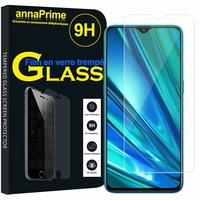 "Realme 5 Pro 6.3"" RMX1971 [Les Dimensions EXACTES du telephone: 157 x 74.2 x 8.9 mm]: 1 Film de protection d'écran Verre Trempé"