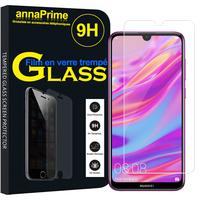 """Huawei Enjoy 9 6.26"""" DUB-AL00/ DUB-AL20/ DUB-TL00 (non compatible Huawei Enjoy 9 Plus 6.5""""): 1 Film de protection d'écran Verre Trempé"""