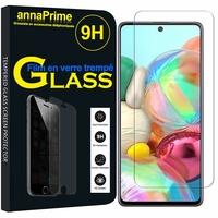 "Samsung Galaxy A71 6.7"" SM-A715F A715F/DS A715F/DSN A715F/DSM [Les Dimensions EXACTES du telephone: 163.6 x 76 x 7.7 mm]: 1 Film de protection d'écran Verre Trempé"