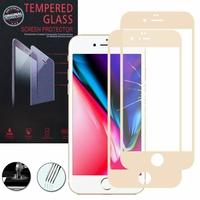 """Apple iPhone SE (2020) 4.7""""/ SE2/ SE (2nd generation) A2275 A2296 A2298 (non compatible iPhone SE 2016 4.0""""): Lot / Pack de 2 Films de protection d'écran Verre Trempé"""