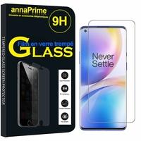 """OnePlus 8 Pro 6.78"""" (non compatible OnePlus 8 6.55"""") [Les Dimensions EXACTES du telephone: 165.3 x 74.4 x 8.5 mm]: 1 Film de protection d'écran Verre Trempé"""