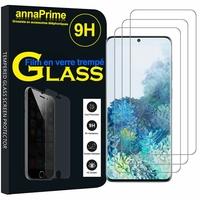 """Samsung Galaxy S20+ Plus/ S20+ 5G 6.7"""" SM-G985 G985F SM-G986 (non compatible Galaxy S20 6.2""""/ S20 Ultra 6.9""""): Lot / Pack de 3 Films de protection d'écran Verre Trempé"""