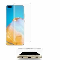 """Huawei P40 Pro 6.58"""" ELS-NX9 ELS-N04 ELS-AN00 ELS-TN00 (non compatible Huawei P40 6.1""""): 1 Film en Verre Trempé Bord Incurvé Resistant"""