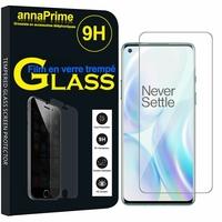 """OnePlus 8 6.55"""" (non compatible OnePlus 8 Pro 6.78"""") [Les Dimensions EXACTES du telephone: 160.2 x 72.9 x 8 mm]: 1 Film de protection d'écran Verre Trempé"""