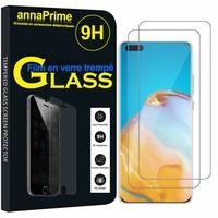 """Huawei P40 Pro+/ P40 Pro Plus 5G 6.58"""" (non compatible Huawei P40 6.1""""): Lot / Pack de 2 Films de protection d'écran Verre Trempé"""