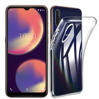 "Wiko View 4 6.52"" (non compatible Wiko View4 Lite) [Les Dimensions EXACTES du telephone: 165.7 x 75.8 x 8.85 mm]: Coque Silicone gel UltraSlim et Ajustement parfait - TRANSPARENT"