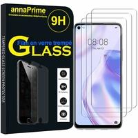 """Huawei P40 lite 5G/ Nova 7 SE 6.5"""" CDY-NX9B CDY-AN00 (non compatible Huawei P40 lite E 6.39""""/ P40 lite 6.4""""): Lot / Pack de 3 Films de protection d'écran Verre Trempé"""