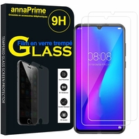 "DOOGEE N20 Pro 6.3"" (non compatible DOOGEE N20) [Les Dimensions EXACTES du telephone: 159 x 77.1 x 8.8 mm]: Lot / Pack de 2 Films de protection d'écran Verre Trempé"