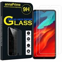 """Blackview A80 Pro 6.49"""" (non compatible Blackview A80 6.21"""") [Les Dimensions EXACTES du telephone: 162.75 x 77 x 8.8 mm]: Lot / Pack de 2 Films de protection d'écran Verre Trempé"""