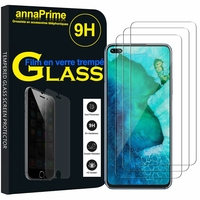 """Huawei Honor V30 Pro/ Honor View30 Pro 6.57"""" OXF-AN10 [Les Dimensions EXACTES du telephone: 162.7 x 75.8 x 8.8 mm]: Lot / Pack de 3 Films de protection d'écran Verre Trempé"""