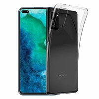 "Huawei Honor V30 Pro/ Honor View30 Pro 6.57"" OXF-AN10 [Les Dimensions EXACTES du telephone: 162.7 x 75.8 x 8.8 mm]: Coque Silicone gel UltraSlim et Ajustement parfait - TRANSPARENT"