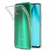 """Huawei P40 Lite/ Nova 6 SE 6.4"""" JNY-L21A L01A L21B L22A L02A L22B LX1 AL10 TL10 (non compatible Huawei P40 lite E 6.39""""): Coque Silicone gel UltraSlim et Ajustement parfait - TRANSPARENT"""