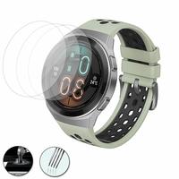 """Huawei Watch GT 2e 1.39"""" (non compatible Huawei Watch GT/ Watch GT 2): Lot / Pack de 3 Films de protection d'écran Verre Trempé"""